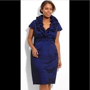Adrianna Papell Pillow Collar Sheath Dress
